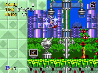 Retro Sonic EggGardens
