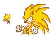 LSSJ Sonic sprite