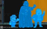 Mario, Darth and Louie