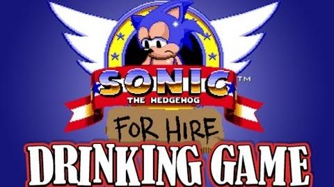Sonic For Hire Shorts - Sonic For Hire Drinking Game