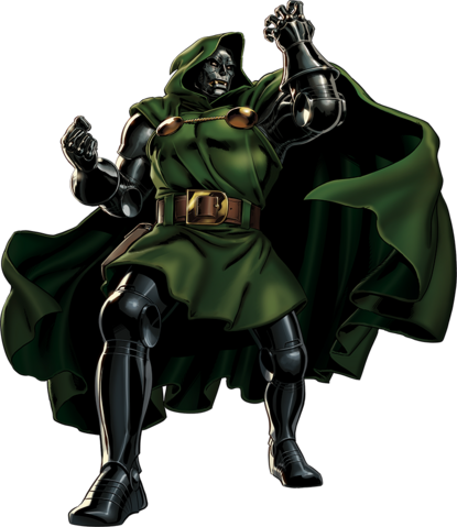 File:Doctor Doom Portrait Art.png