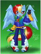 Rainboom the Pegasus