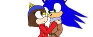 Cute sonic couple base by rannathehedgehog-d60tpb1