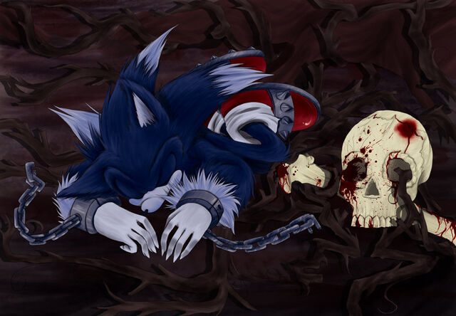 File:Sonic the Werehog is handcuff in the Land of Death.jpg