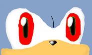 Dick's red eyes