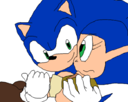 Sonic saving Phyliss