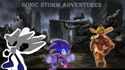 2016 Sonic Storm Adventures poster