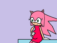 Samantha pregnant with Sonic