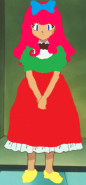 Cammie in a dress