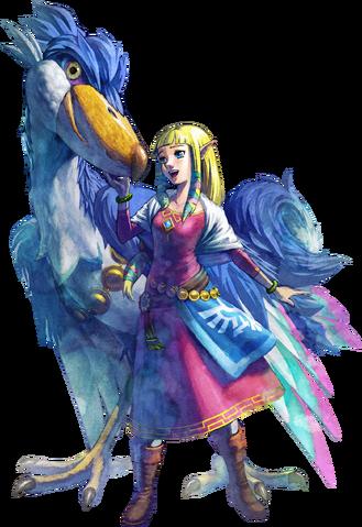 File:Princess Zelda Artwork (Skyward Sword).png