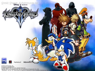 Sonic Storm Adventures of Kingdom Hearts II