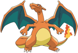 Charizard AG anime