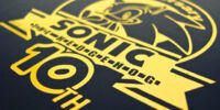 Sonic The Hedgehog 10th Anniversary Promotional Disc