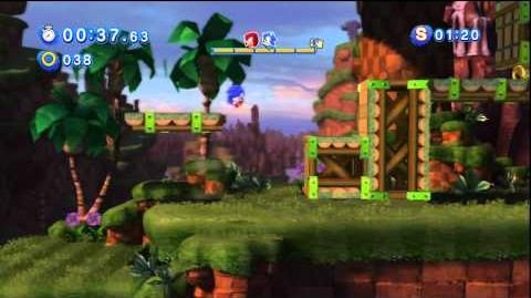 Sonic Generations Playthrough Request - Sonic VS Knuckles Race