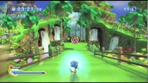 Sonic Generations - Modern Green Hill Zone COMPLETE Gameplay