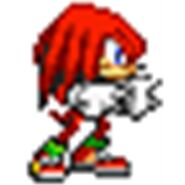 Knuckles in sprite
