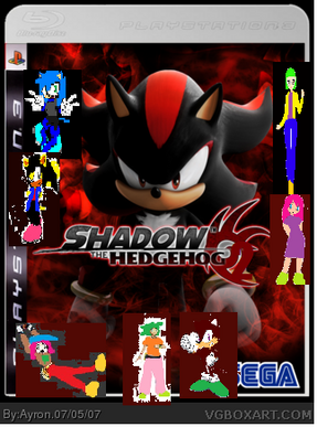 Shadow the Hedgehog 2 cover