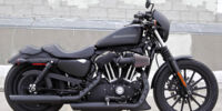 Cole's customised Harley-Davidson Sportster XL883N Iron 883