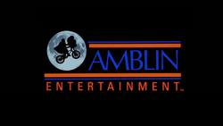 AMBLIN ENTERTAINMENT 1982 LOGO
