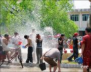 Water-Splashing