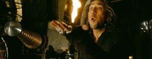 Balthazar Blake's Fire Spell