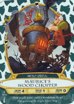10 - Maurice's Wood Chopper