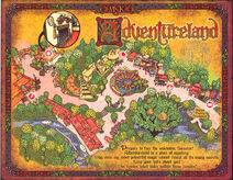 Sorcerers of the Magic Kingdom Map - Adventureland