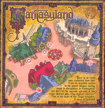 Sorcerers of the Magic Kingdom Map - Fantasyland