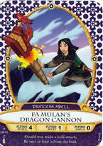 06 - Fa Mulan's Dragon Cannon
