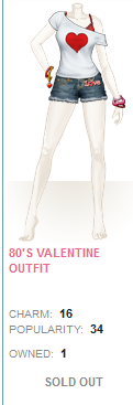 80s Valentines Outfit