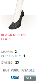File:Black Quilted flats.png