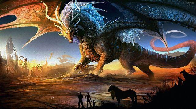 File:Dragon Fantasy Art.jpg