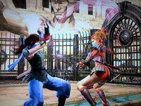 Tsubame Natsu sparring