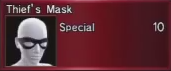 Thief Mask Info