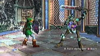 SoulCalibur II GC Link's Command List