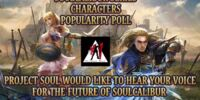 Soulcalibur Series Character Popularity Poll