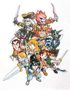 Characters 4 (Soul Edge Artbook)