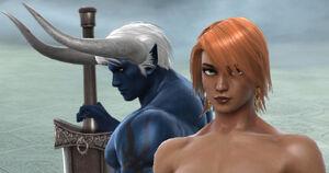Demon Sanya Lexa (Human Form)