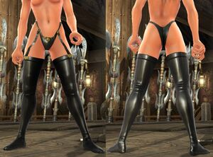 SC IV Tiger Lily Stockings