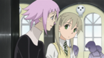 Soul Eater Episode 37 HD - Maka's team and Crona dine (1)