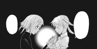 Soul Eater Chapter 112 - Maka reunites with Crona