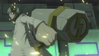 Mjolnir in the anime