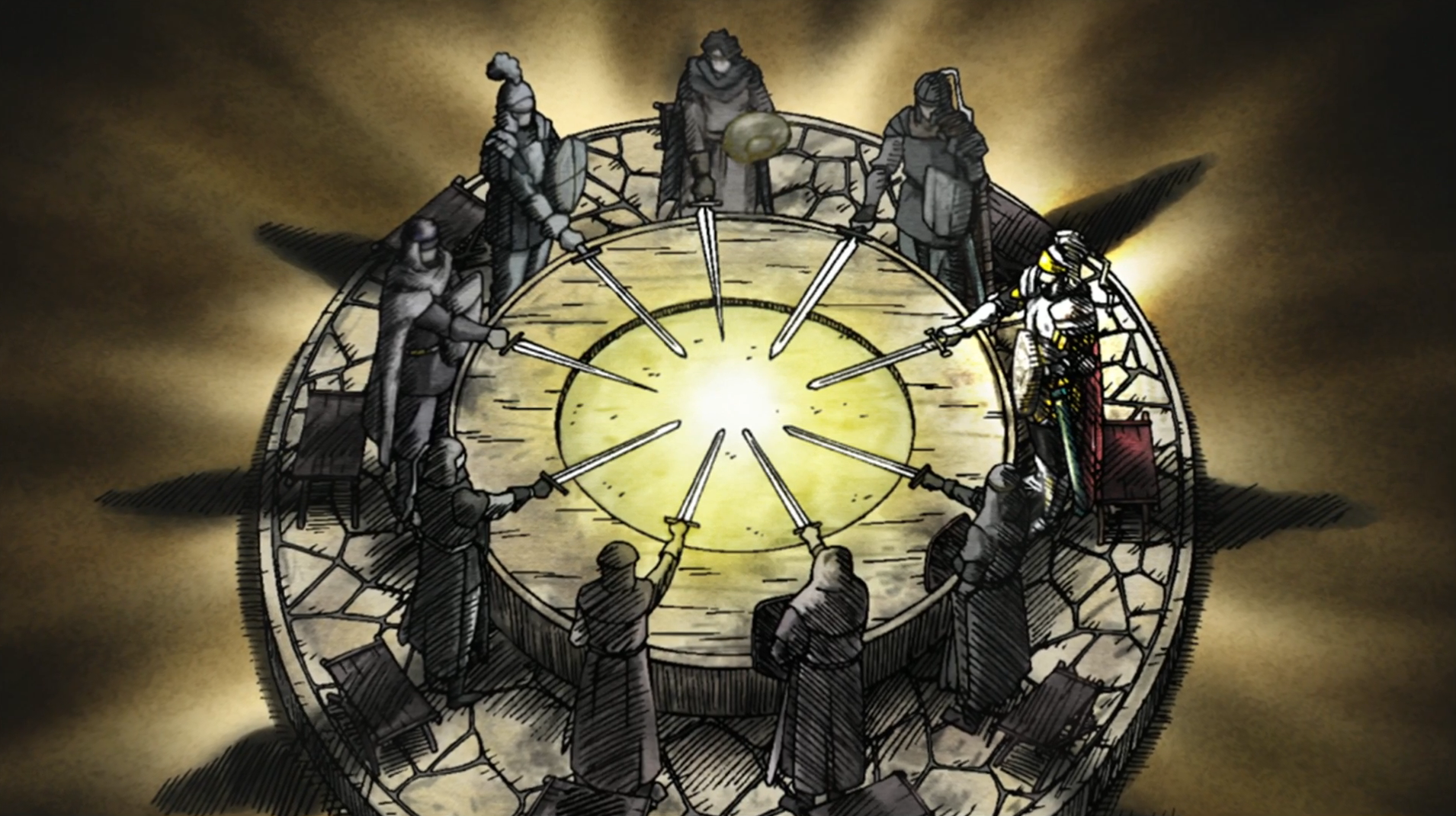 Knights Of The Round Table Wiki Image Soul Eater Episode 17 Knights Of The Round Tablepng