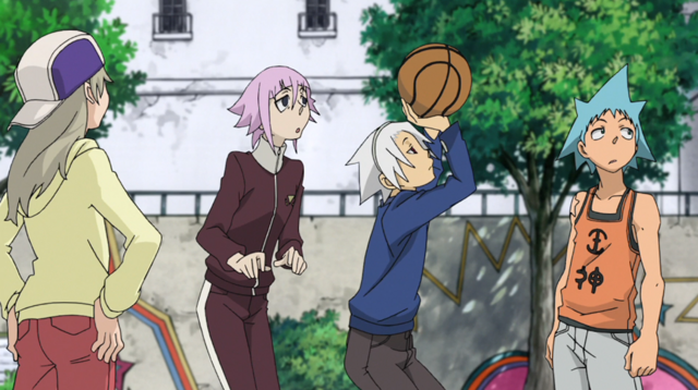 File:Soul Eater Episode 31 HD - Soul teaches Crona basketball 5.png