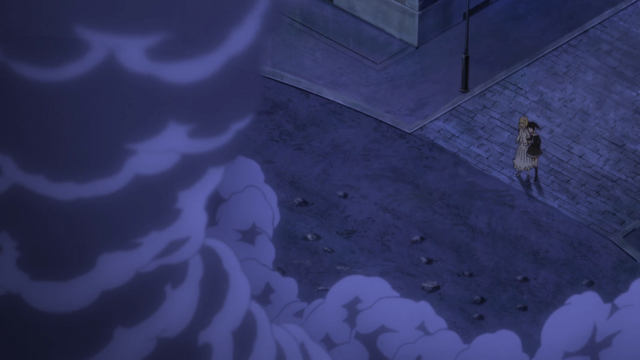 File:Soul Eater NOT Episode 10 HD - Anya and Tsugumi arrive at the explosion.png