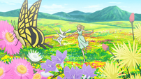 Soul Eater Episode 17 HD - Excalibur and Cathy in meadow