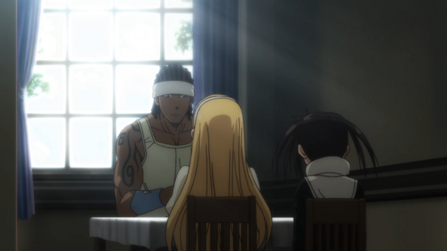 File:Soul Eater NOT Episode 10 HD - Sid meets with Anya and Tsugumi.png
