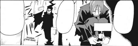 Shinigami threatens Spirit