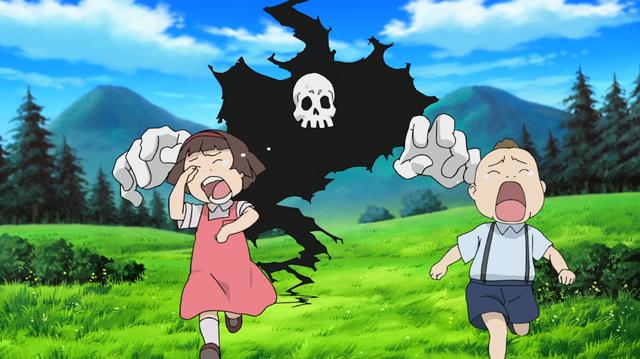 File:Soul Eater Episode 24 HD - Children scared of Old Death.png