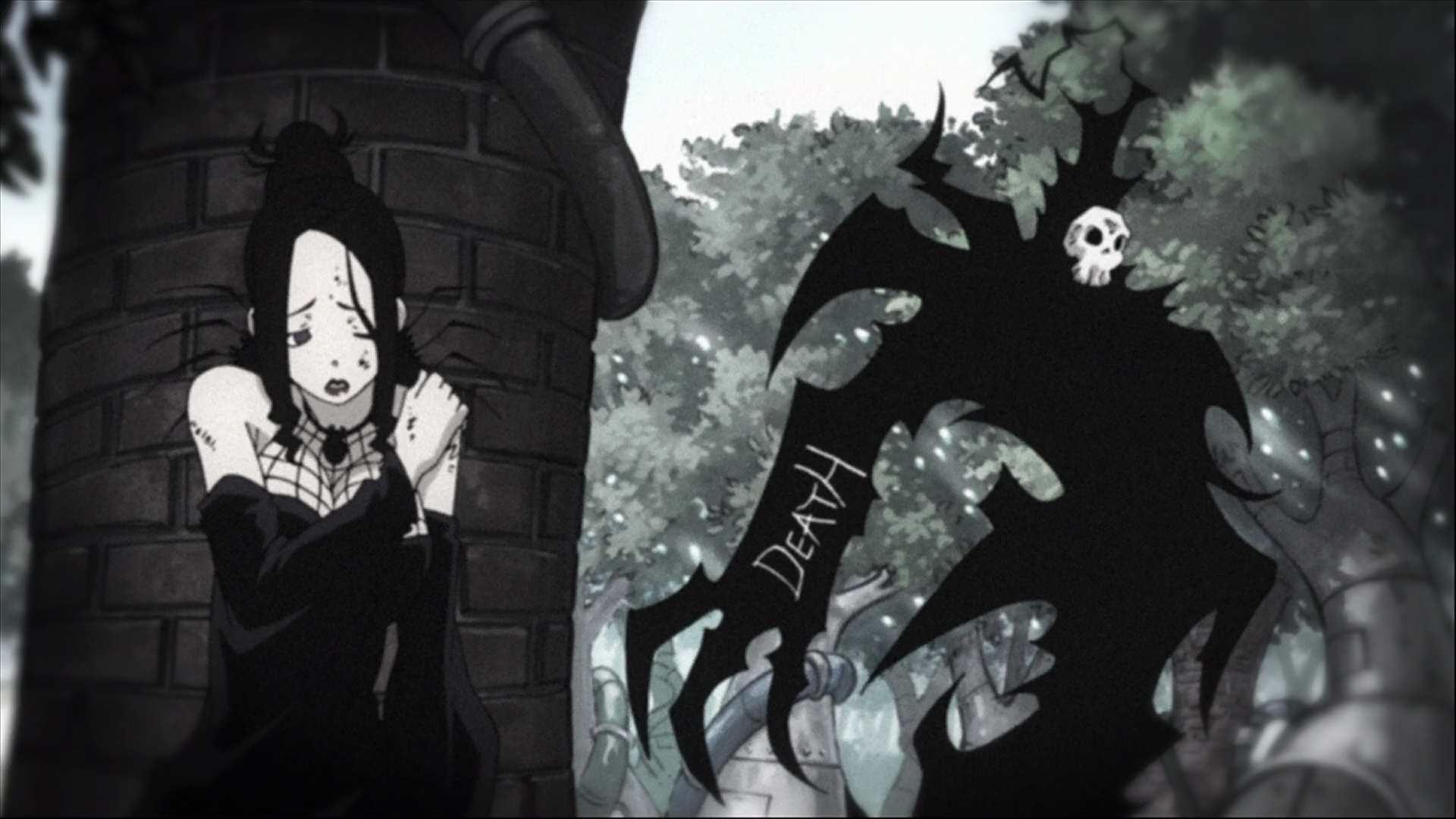 Image - Episode 27 - Arachne is hunted by Death.png | Soul Eater ...